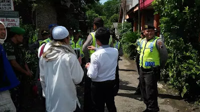 Polisi Bubarkan Paksa Kajian Umat Islam di Magelang