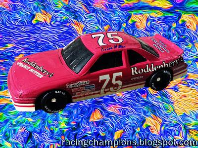 Butch Miller #75 Roddenbery's Peanut Butter Pickles Oldsmobile 1992 Racing Champions 1/64 NASCAR diecast blog Charlie Henderson Don