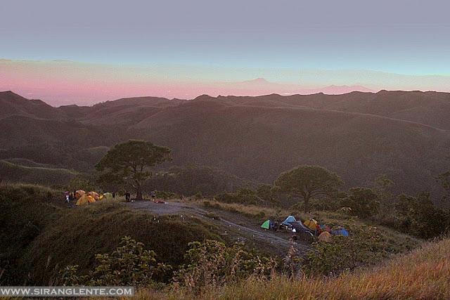 Mt. 387 campsite