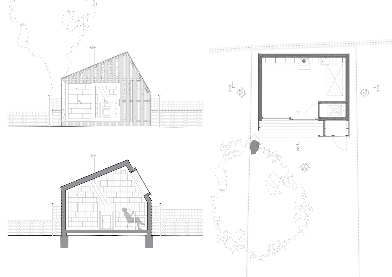Writer's Shed by WSD Architecture | ARC ART blog by ...