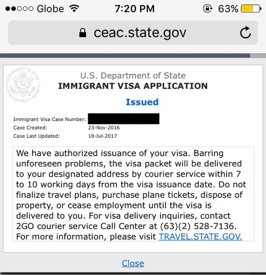 My detailed US Immigrant Visa Interview Experience (IR2)