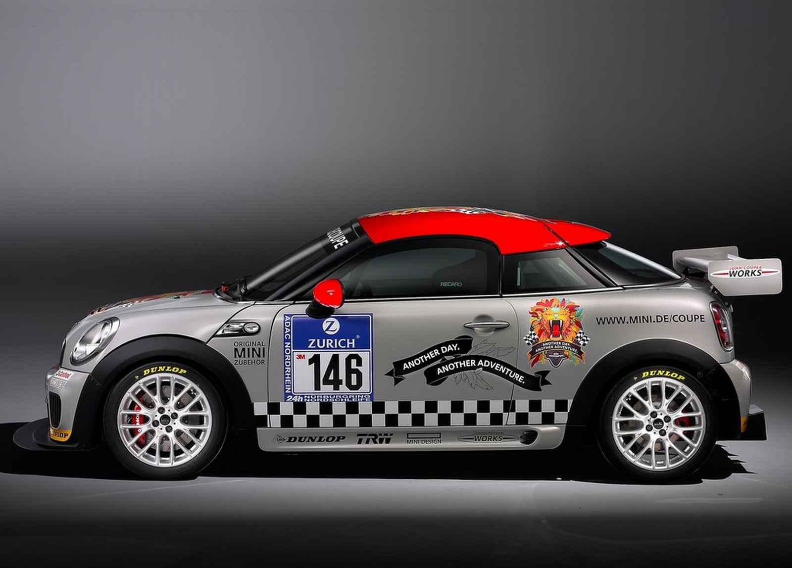 2011 Mini John Cooper Works Coupe Endurance Tattoo Art Design
