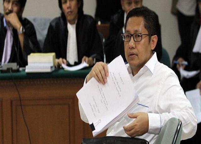 Anas Bantah Disebut Terima Duit Korupsi E-KTP