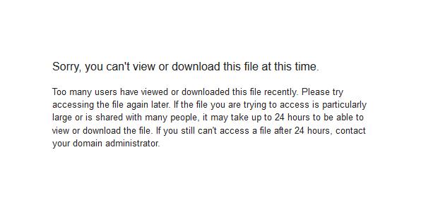 Cara Mengatasi Limit Google Drive di Device Apa Saja