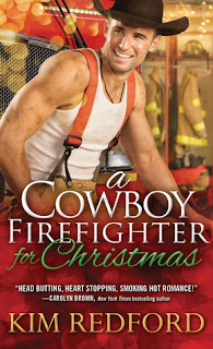 christmas, firefighter, cowboy, romance, kim redford, review