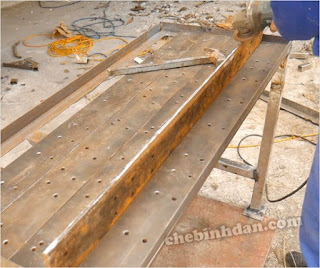 Heavy-Duty-Portable-Mobile-Workbench-Mega-steel-worktop