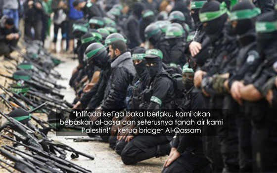 Bersumpah Bebaskan Al-Aqsa, Lebih 30 Ribu Pejuang Palestin Dan Syria Perangi Israel