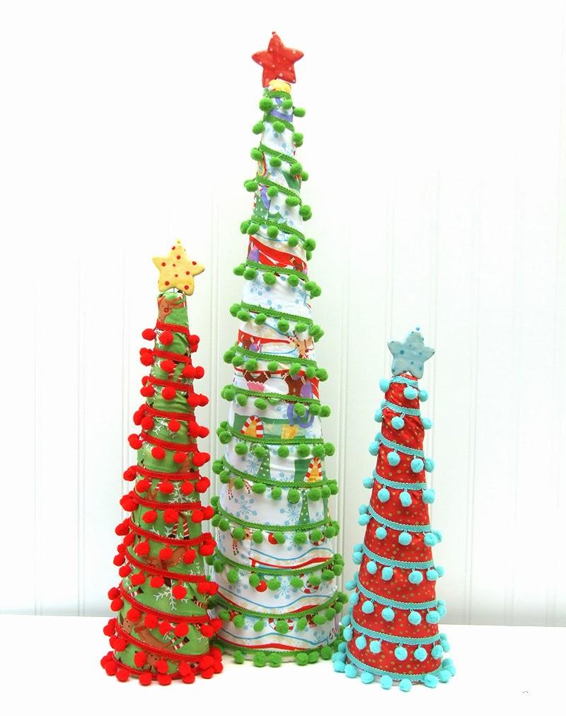 Jennifer Jangles Blog Pom Pom Tree Tutorial