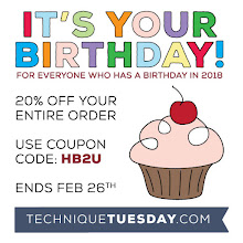 Technique Tuesday Birthday Sale
