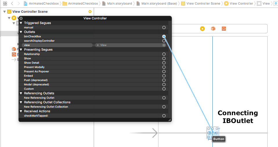 How to create checkbox in swift - tutorial - iOSTutorialJunction