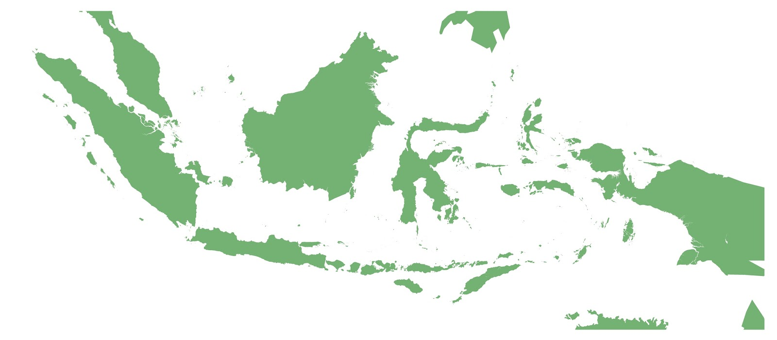 Download Peta Indonesia Resolusi Tinggi - Rahman Gambar
