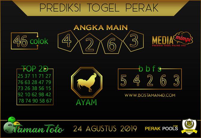 Prediksi Togel PERAK TAMAN TOTO 24 AGUSTUS 2019