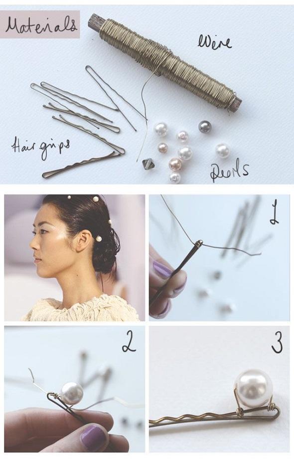 horquillas, cabello, pelo, tutoriales, manualidades, estetica, customizar