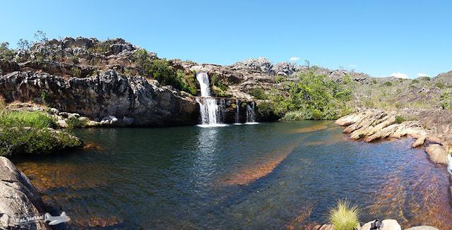 Cachoeira dos Cristais, Vila do Biribiri, Diamantina, Minas Gerais, Caminho dos Diamantes, Estrada Real