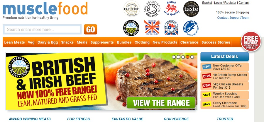 Musclefood Premium Nutrition, where to buy lean meats, protein snacks, where to buy protein, healthy body healthy mind, lifestyle, slimming world