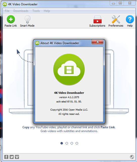 ummy video downloader key activation