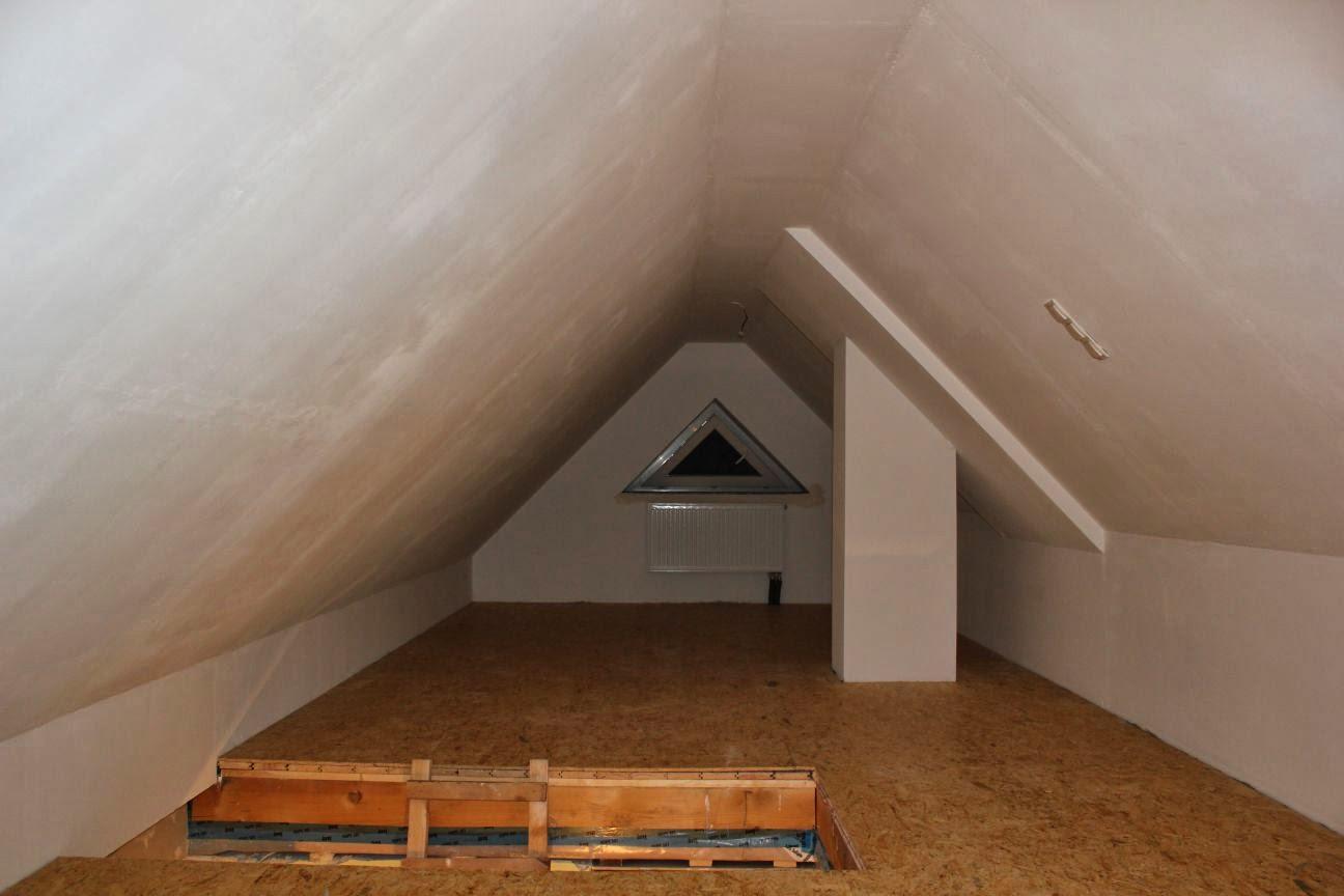 Unser Weg Zum Haus In Hoisdorf Osb Platten Im Dachboden