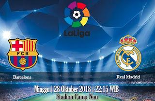 Prediksi Barcelona vs Real Madrid 28 Oktober 2018