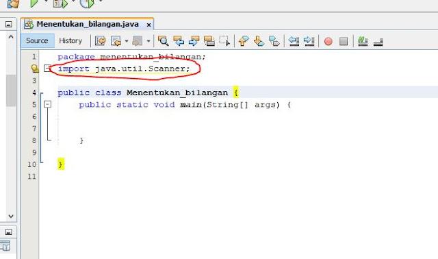 Script membuat programjava menentukan bilangan ganjil dan genap