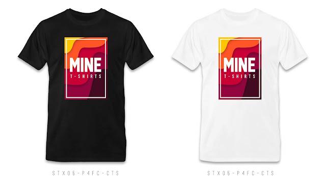 STX05-P4FC-CTS Text T Shirt Design, Custom T Shirt Printing