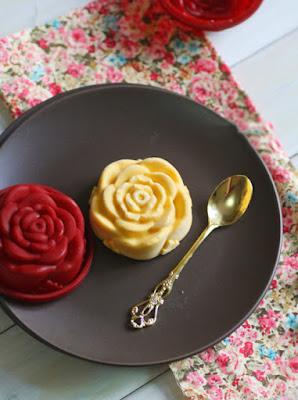 Mát mịn thơm phức món kem xoài