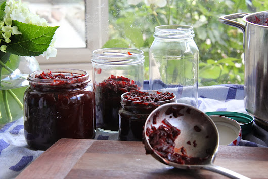 Relish the moment - beetroot edition
