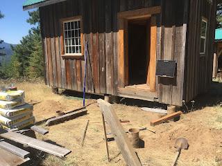 Timber Framing a North Idaho Cabin