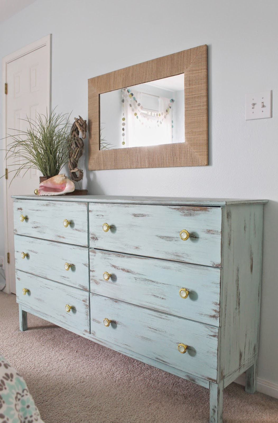 Ikea Unfinished Dresser The Ragged Wren : Shabby-beach Bedroom