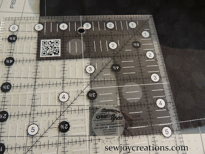 creative grid ruler boxing basket corner