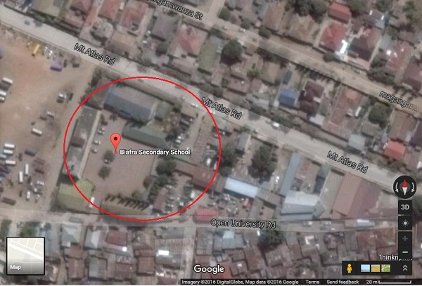 DID YOU KNOW: 'Biafra Secondary School' Exists In Tanzania (Photo & Address)