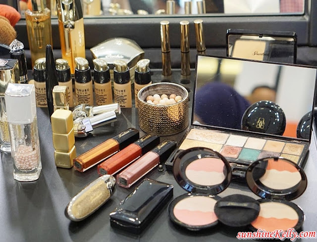 SOGO, Let's Kiss and Makeup, Glam Up With GUERLAIN Workshop, Guerlain, Holiday Makeup Collection, 190 Years Special Limited Edition, Rouge G de Guerlain, Guerlain Météorites Electric Pearl, Guerlain Limited Edition Electric Look, Makeup, Beauty