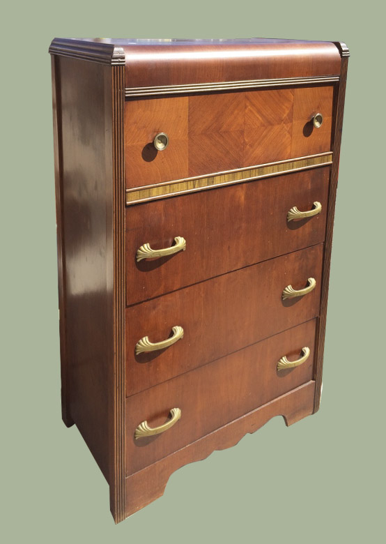 uhuru furniture collectibles waterfall chest of drawers