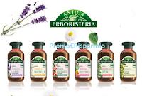 Logo Diventa gratis una delle 500 tester linea shampoo Antica Erboristeria