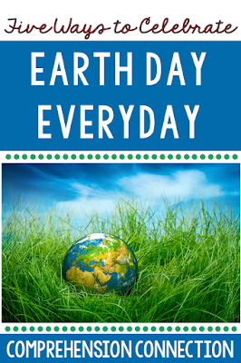 This round up post includes a great collection of recommended books, project ideas, vdeo links, websites, and more for you and your students to celebrate Earth Day.