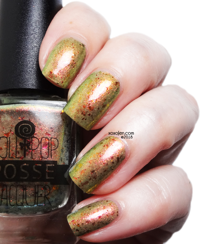 xoxoJen's swatch of Lollipop Posse Sass Those Boys Up Nasty