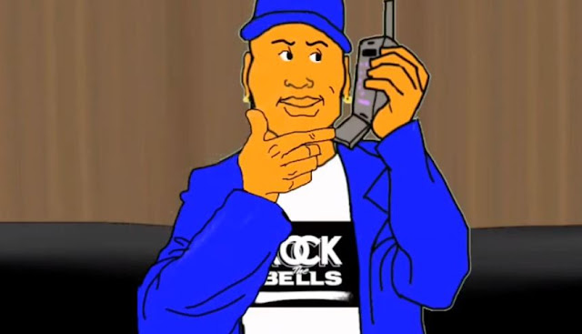 LL Cool J Tells Drink Champs How He Created Pink Cookies Song (Spate Media Animation)