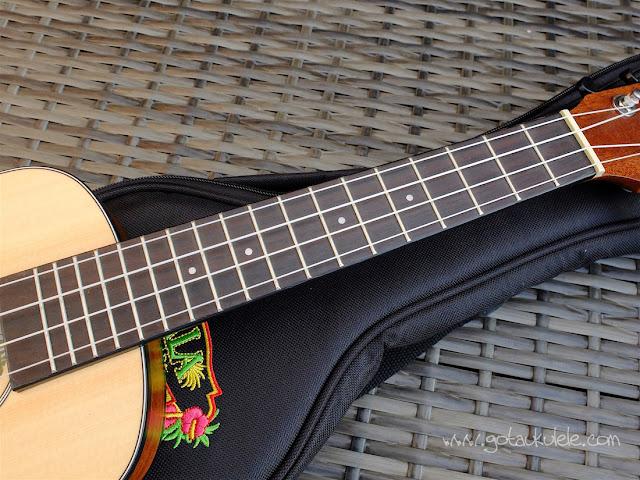 Kala KA-SSTU-C ukulele neck