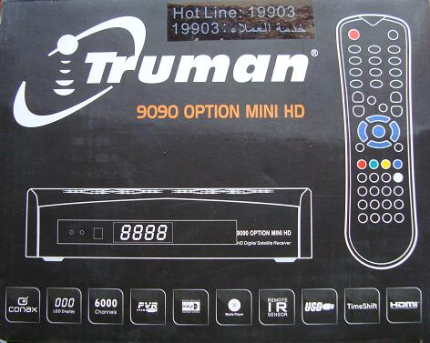 سوفتات جي شير بلص للترومانTruman 9090 option mini HD+Truman 9090B option mini HD Rtgzb