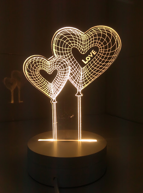 3D Illusion Magic Table lamps with Night Lights