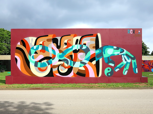 Our friend REKA just sent us a series of exclusive images from his latest pieces which were just completed in Denmark.