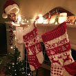 McAree Blog: Christmas Stockings Knit in Hayfield Chunky
