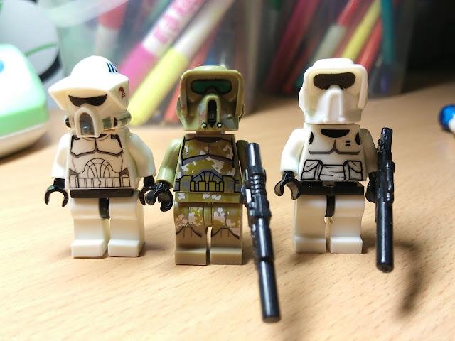 Лего минифигурки клоны и штурмовики разведчики, купить