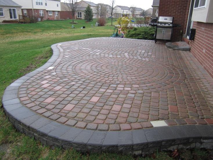 Brick Paver Patio Repair Amp Redesign In Canton Mi Brick