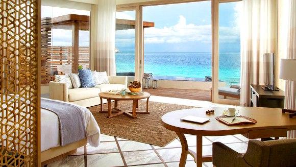 Interior design rumah tepi laut