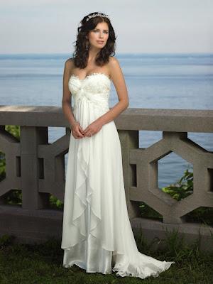 Vestidos de novia para playa