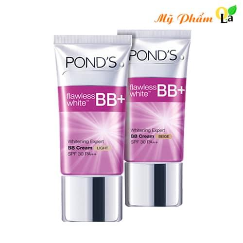 Kem BB Cream Dưỡng Trắng Tạo Nền Pond's giúp che khuyết điểm tối ưu cho làn da