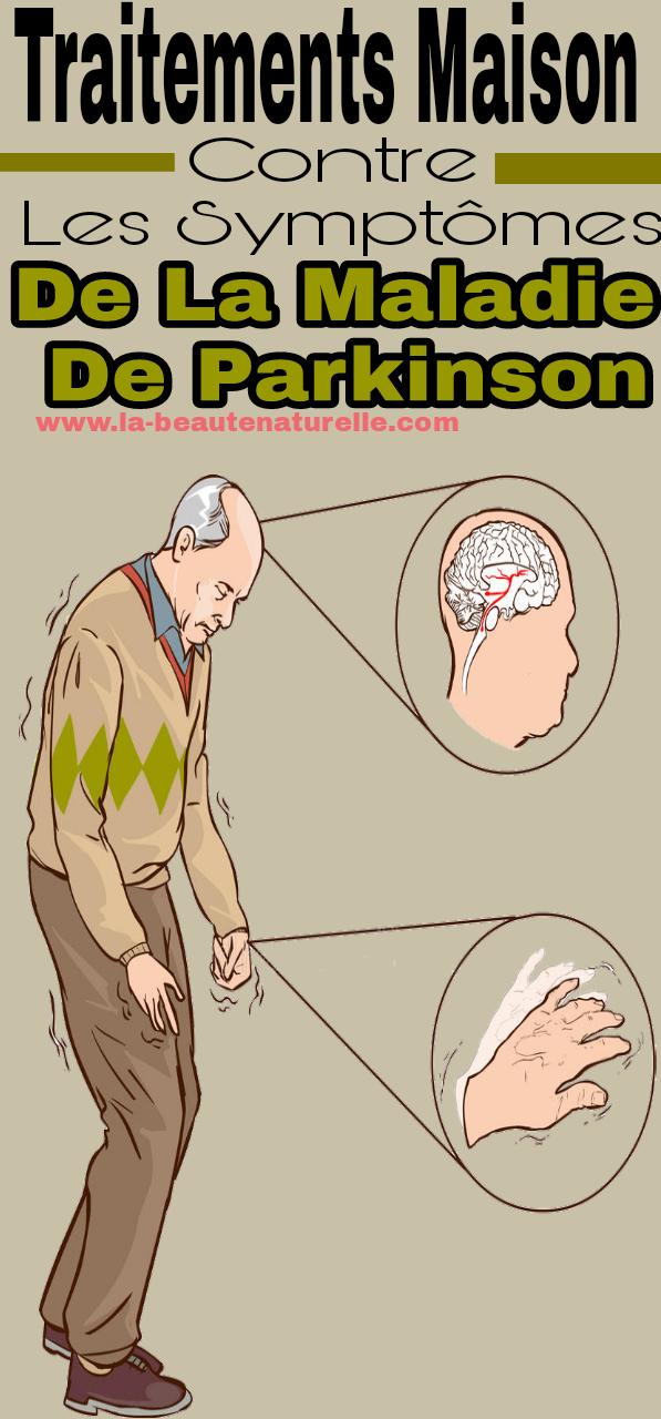 Traitements maison contre les symptômes de la maladie de Parkinson