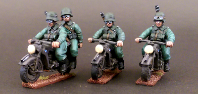 28mm German Motorcycle