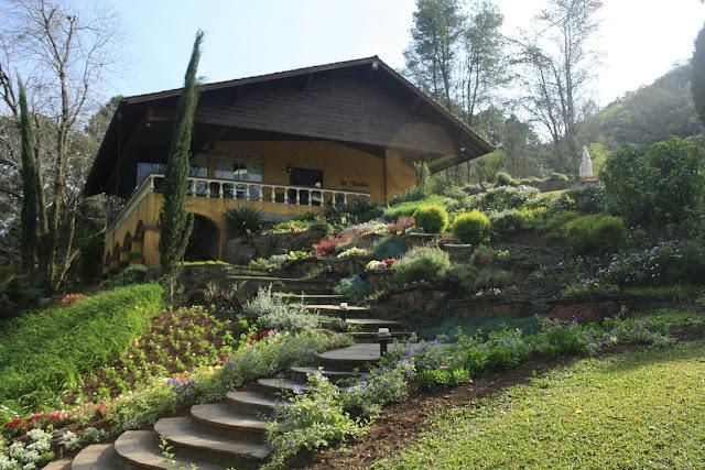 Entrada do Jardim de Lavanda em Gramado