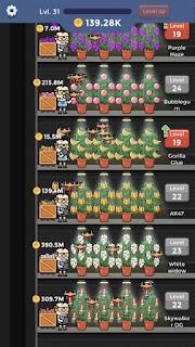 Weed Factory Idle v 1.14.5 apk mod COMPRAS GRÁTIS
